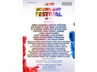 4x Sidewinder Festival Ticket for Sale