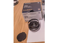 Panasonic 20mm mm f/1.7 (with box)