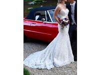 Ines Di Santo - Cannes - Second Hand Wedding Dress - Size 12 UK