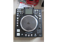 DENON HS5500 MOTORISED SPINNING PLATTER CONTROLLER WITH GENUINE DENON DJ FLIGHT BAG