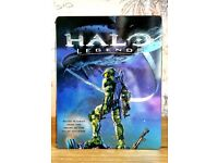 HALO LEGENDS UK Blu-ray Steel BOOK ~ Very Rare ~ MINT