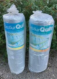 YBS Breather Quilt Roof Insulation 2x 10m x 1.2m Rolls Brand New & Sealed