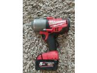 Milwaukee M18 1/2inch electric wrench