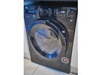 Beko WDX 854313 Washer/Dryer 8kg wash, 1400 spin speed - black