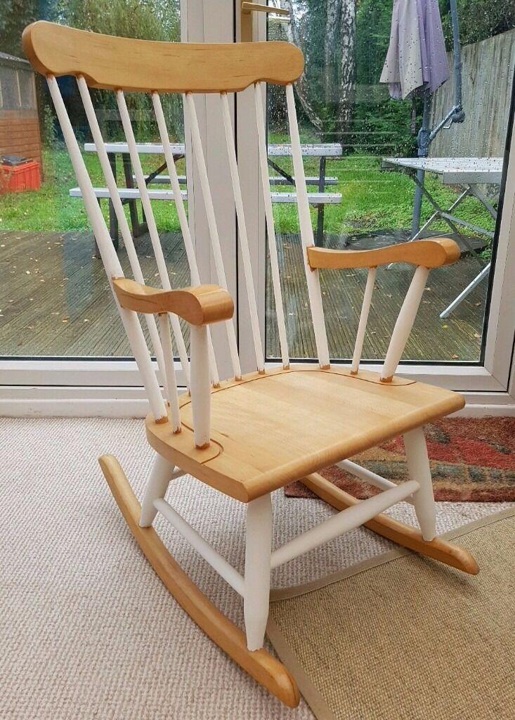 Genial Beautiful Shabby Chic Style Rocking Chair