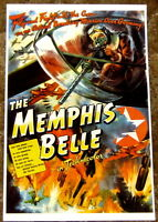 MOVIE POSTER: Memphis Belle US Air Force 1942