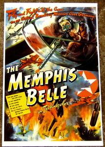 MOVIE POSTER: Memphis Belle US Air Force 1942