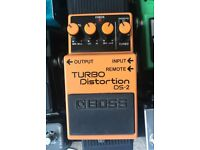 ***SOLD*** Boss DS-2 Turbo Distortion Pedal DS2
