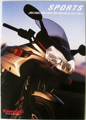KAWASAKI Sports - Motorcycle Sales Brochure - 2000 - #KMUK2000