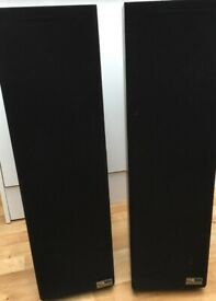 TDL RTL 2 Reflex transmission line floor standing speakers (immaculate, boxed)