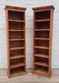 Pair Of Pine Storage Units (DELIVERY AVAILABLE FOR THIS ITEM OF FURNITURE)