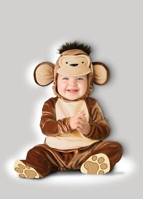 Curious George Costume Baby (Incharacter Mischievous Monkey Curious George Baby Halloween Costume)