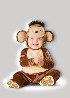 Incharacter Mischievous Monkey Curious George Baby Halloween Costume - Curious George Baby Costume
