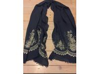 Ladies Linen Scarf from Etsy