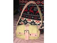 Ladies Canvas Handbag Small But In Good Condition