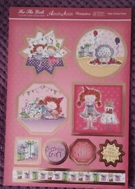 """Card making kit called """"Pollys Perfect Party"""""""