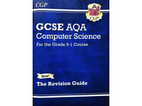 GCSE Computer Science (AQA) revision guide - unused. Ideal for home schooling.