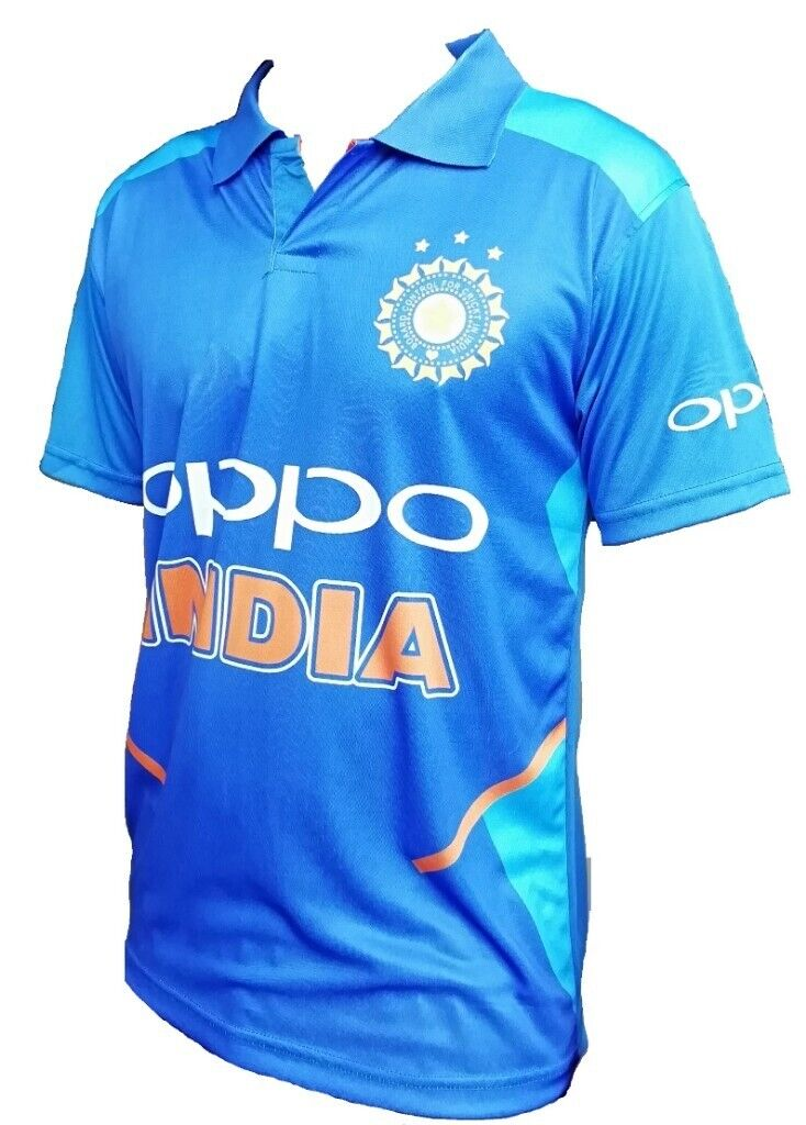908614af0 India cricket Jersey 2019 World cup Brand new Tshirt all sizes Dry Fit ...