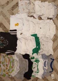 Baby vest & grow bundle unisex/boy
