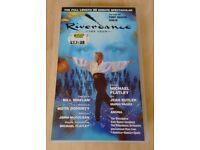 Riverdance the Show (1995) and Riverdance the new show (1996) VHS