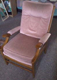Oak Armchair - *Free Delivery