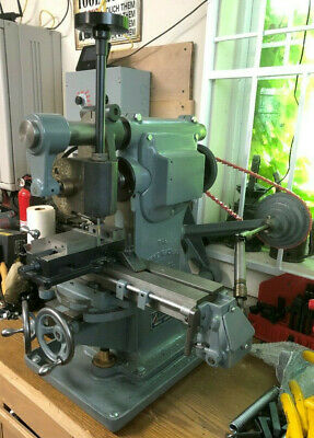 Awesome Burke 4 Milling Machine Wvertical Milling And Vfd