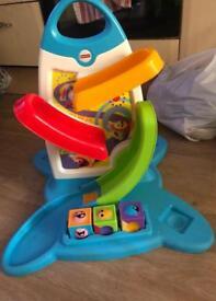 Roller blocks toy