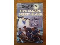 Book Five Escape Brexit Island (Enid Blyton For Grownups) By Bruno Vincent New
