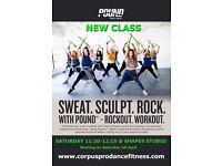 PILATES * POUND Rockout.Workout. * LATIN DANCE FIT * AFRO-CUBAN DANCE