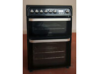 Freestanding Electric Double Oven Cooker 60cm in Black