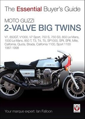 Moto Guzzi 2-valve big twins The Essential Buyers Guide book paper