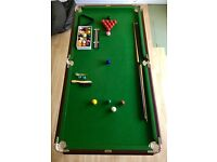 6ft Riley Snooker Table in very good condition