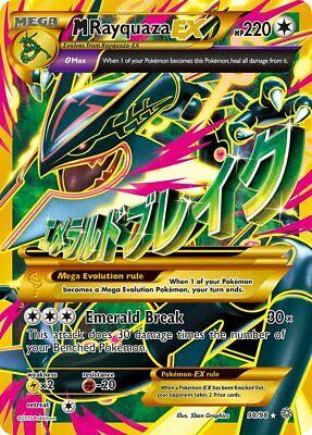 Pokemon Karte - Mega Rayquaza EX 98/98 Shiny, Full Art | NM EN, usado comprar usado  Enviando para Brazil
