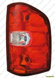 Tail Light Passenger Side Chevrolet Silverado 2007-2013