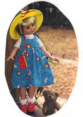 "Sewing dress Clothes Pattern fits 13"" Doll Little Darling Besty"