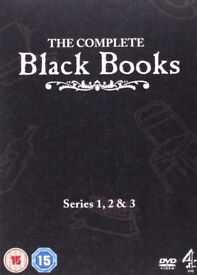 The Complete Black Books Series 1 2 & 3 - DVD Boxset
