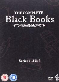 The Complete Black Books Series 1 2 & 3 - DVD Boxset