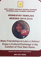 Homestay Families for Holy Spirit Schools