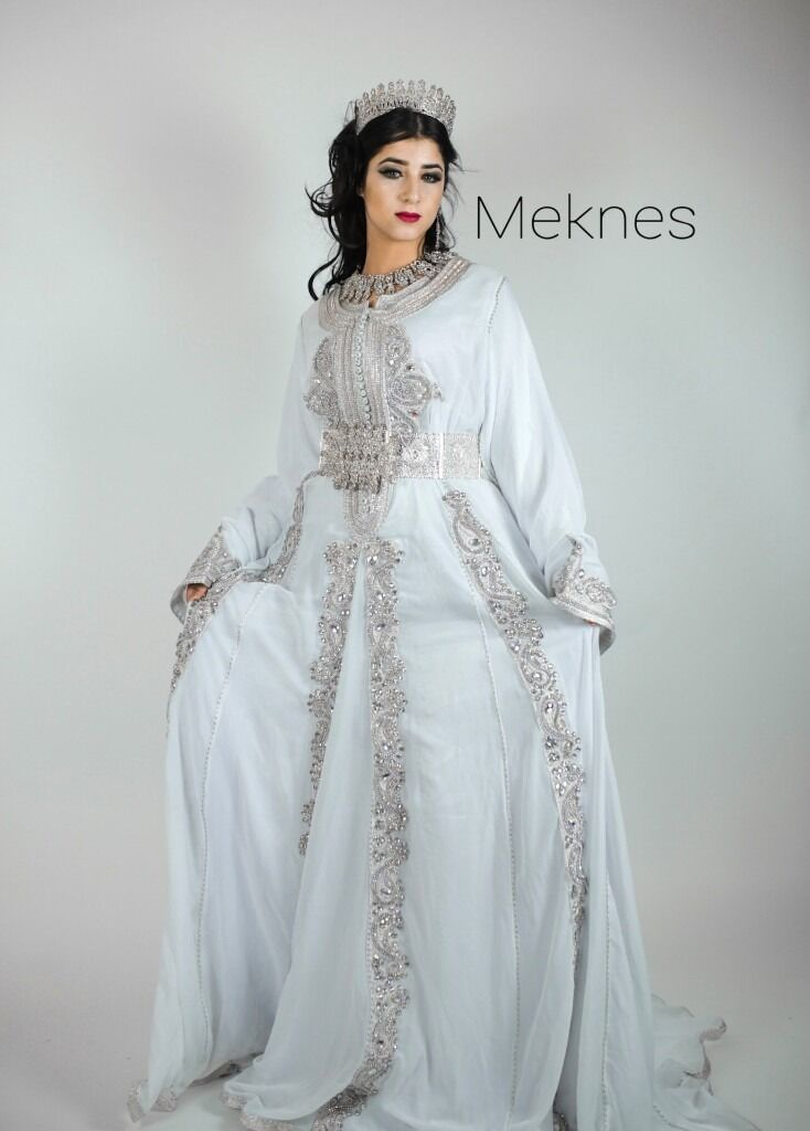 London Negafa Ziana Bridal Kaftan Moroccan Arab Weddings
