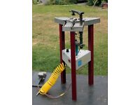 Cassese CS89 pneumatic framers underpinning machine