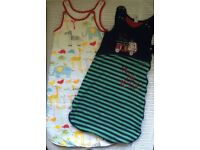 Baby Sleeping bags x2