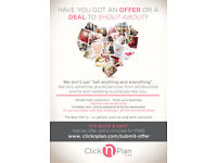 Calling ALL Events/Wedding Businesses...Advertise your offer for free