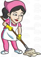 Cleaning condos at Queens Quay