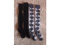 2 x ladies knee high socks. Brand new. £5 for both