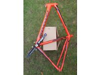 Cannondale Synapse Alloy Tiagra 6 Disc 2016 Road Bike frame only, 56, used, red