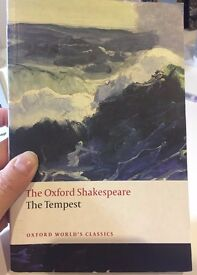 The Tempest by William Shakespeare - Good Classical read! (Free pen)