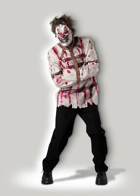In Character Adult Male Circus Clown Psycho Costume Large