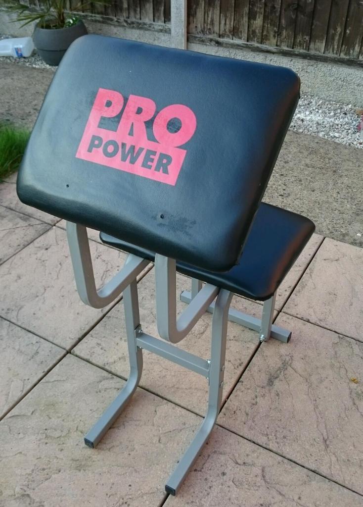 Pro Power Preacher Curl Chair United Kingdom Gumtree