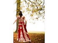 Indian wedding dress UK size 10