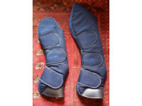 Horse travel boots Pessoa full size navy